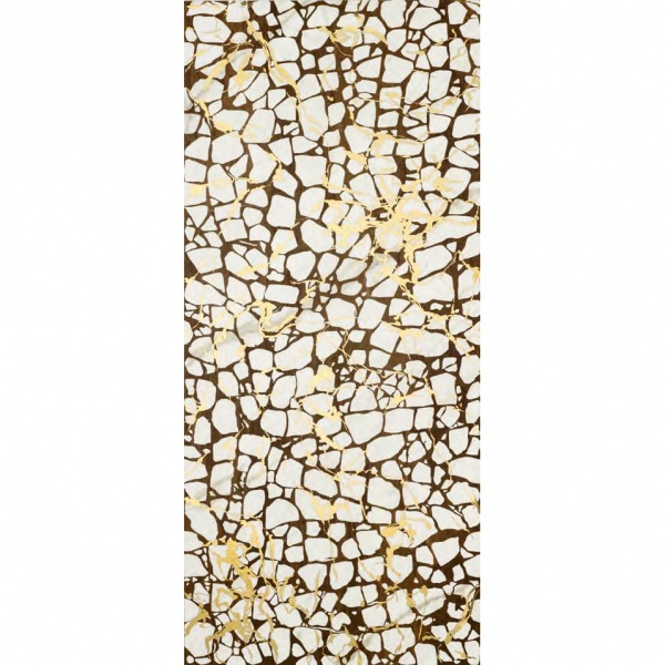 Декор 80x180 см Gardenia Orchidea Unique Marmi 57830 Brown Onix/Calacatta/Gold Decoro Organic 80x180